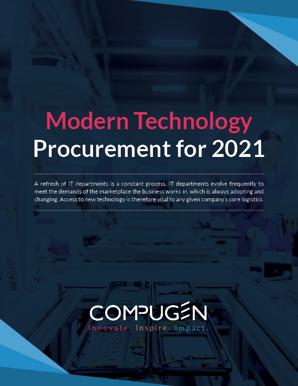 Modern Technology: Procurement for 2021